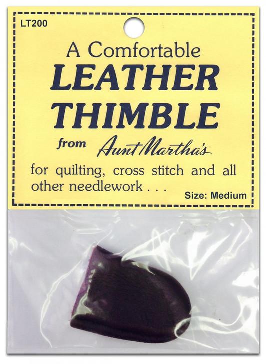 Leather Thimble, Medium