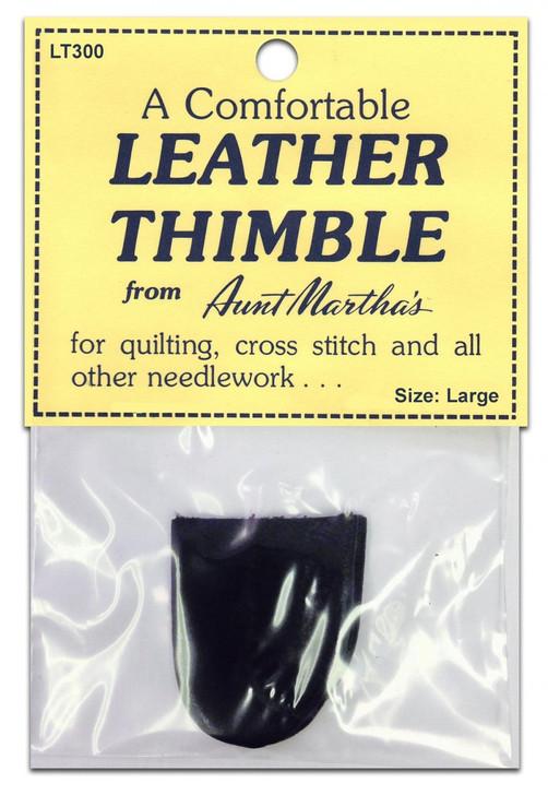 Leather Thimble, Large