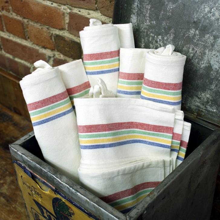 Aunt Martha's Vintage Multi Stripe Towels