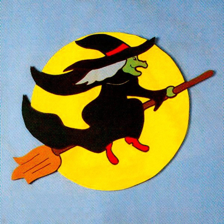 Uncle Bud's Yard Buddies #3017 Witch in Moon