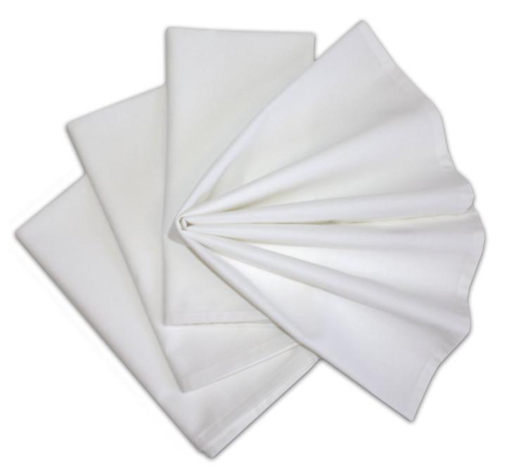 Stitch 'Em Up Napkins - White