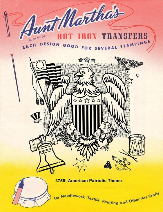 Aunt Martha's #3756 An American Patriotic Theme
