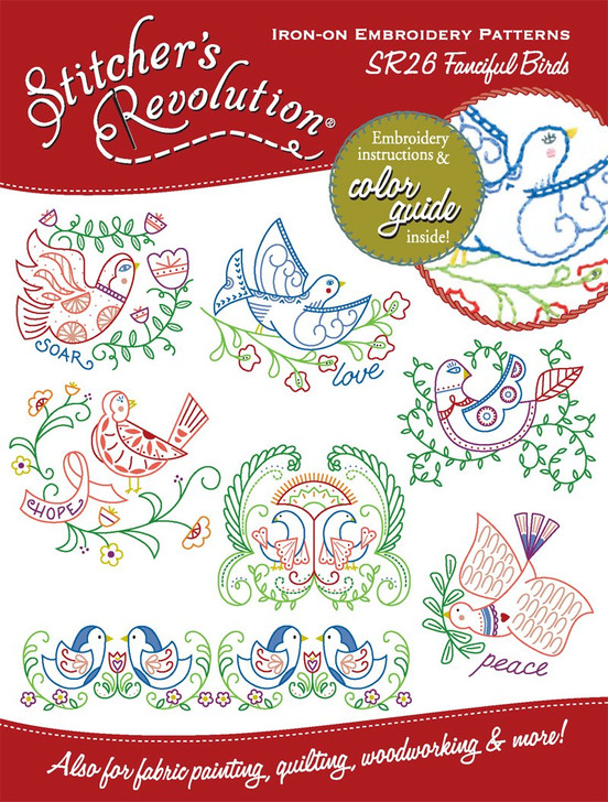 SR26 Stitcher's Revolution Fanciful Birds