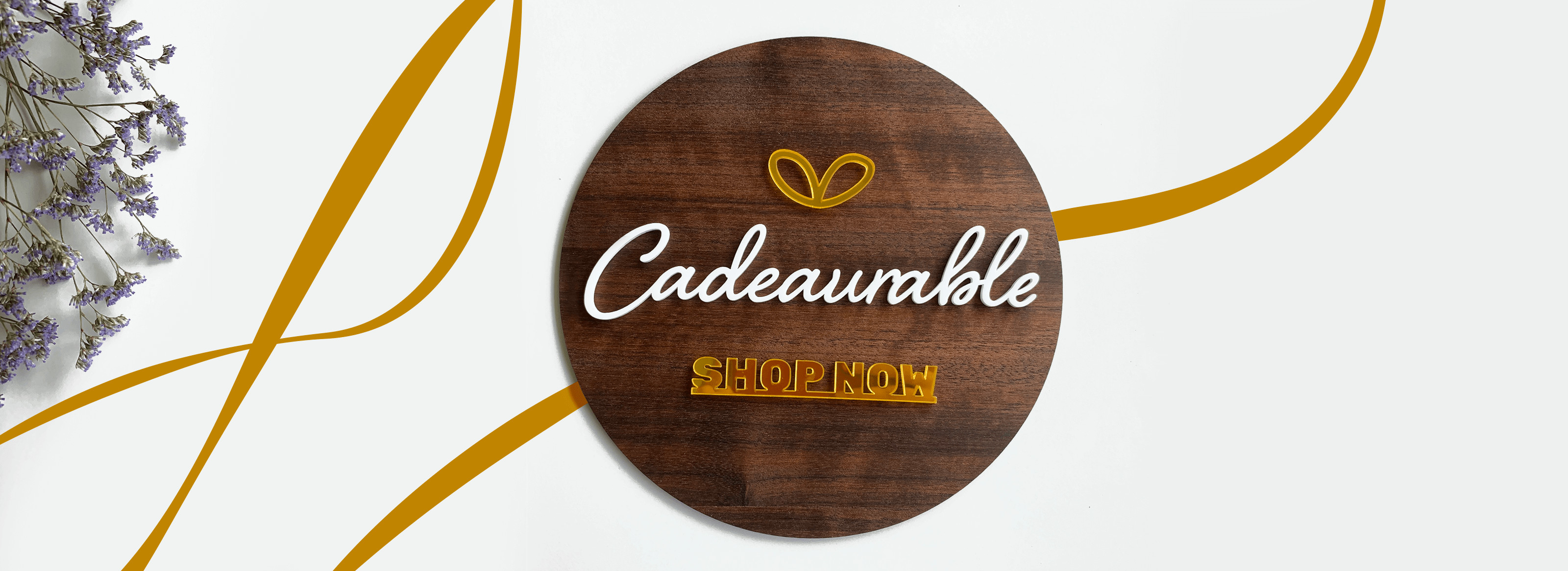 Cadeaurable Welcome Banner