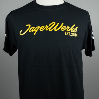 T-shirt JW Yellow Script