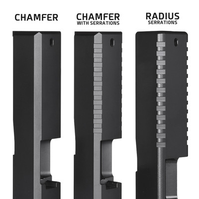 Glock Enhanced Front & Rear Serrations
