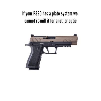 Sig P320 Shield RMS-C cut