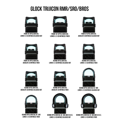 Glock Trijicon RMR/SRO/BROS