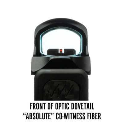Holosun 507C Front of Optic Dovetail Absolute Co-Witness Fiber