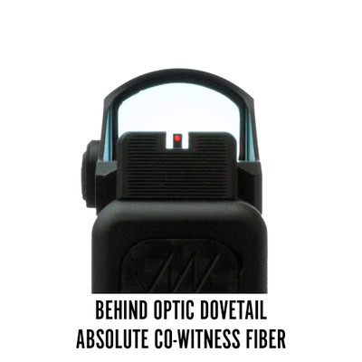 Vortex Viper Behind Optic Dovetail Absolute Co-Witness Fiber