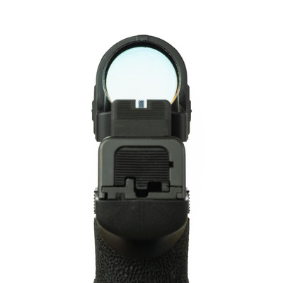 CZ P10 Iron Sights - Trijicon SRO