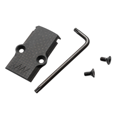 Carbon Cap, IP15 wrench, IP15 screws included