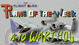 Plane of the Week: A-10 Warthog Fighter Jet