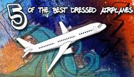 5 Coolest Commercial Airplane Paint Jobs