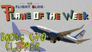 Plane of the Week: Boeing C-40 Clipper