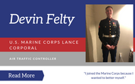 Interview with Marine ATC Lance Corporal  Devin Felty