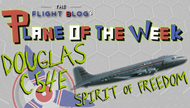 Plane of the week: Douglas C54E The Spirit Of Freedom