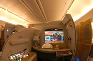 From Letters to Luxury: The Revolution of Flying First Class