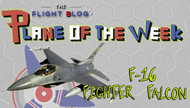 Plane of the Week: F-16 Fighter Falcon