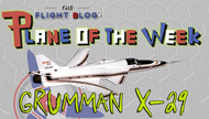 Plane of the Week: Grumman X-29