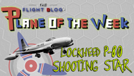 Plane of the Week: Lockheed P-80 Shooting Star