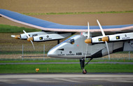 Solar Powered Plane Completes US Crossing