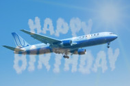 A commercial success: United Airlines celebrates its 90th birthday