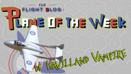 Plane of the Week: de Havilland Vampire