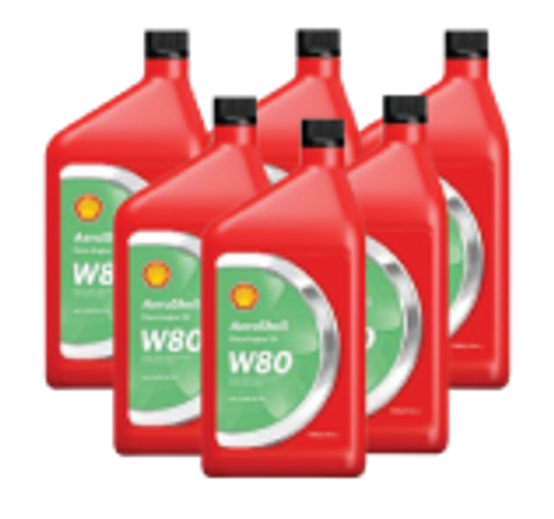 AeroShell Oil W80 - 6/1 Quart Case