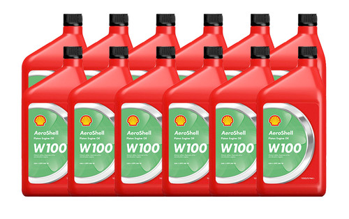AeroShell Oil W100 - 12/1 Quart Case