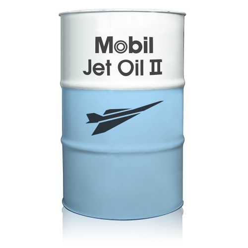 Mobil Jet Oil II - 55 Gallon Drum