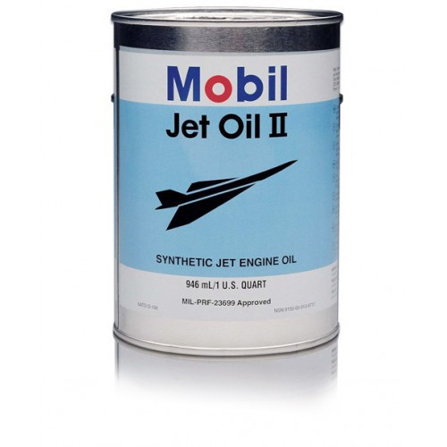 Mobil Jet Oil II - 1 Quart Can