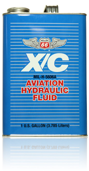 Phillips 66 X/C 5606A Aviation Hydraulic Fluid - 1 Gallon Bottle