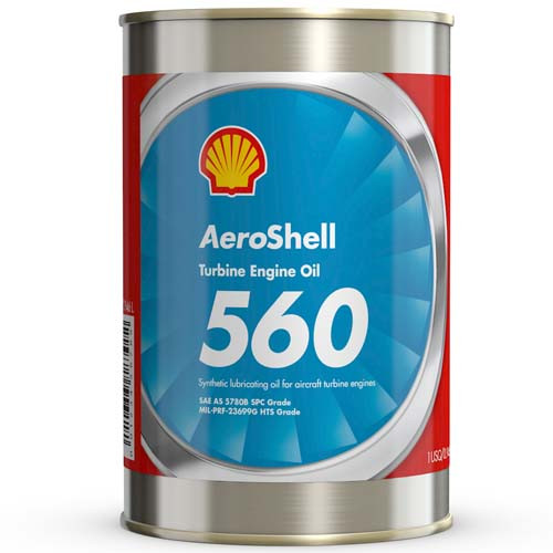 AeroShell Turbine Oil 560 - 1 Quart Can
