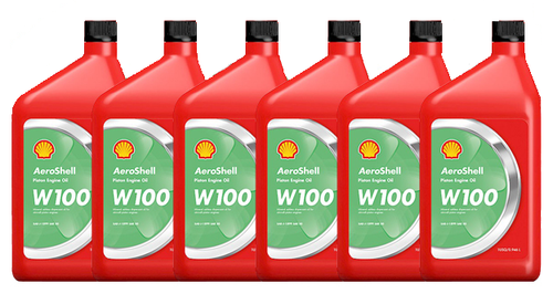 AeroShell Oil W100 - 6/1 Quart Case