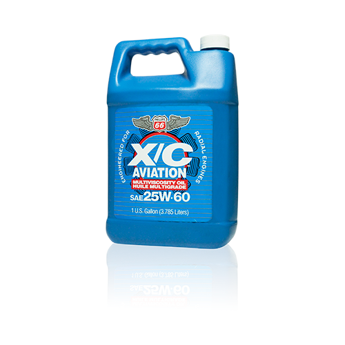 Phillips 66 X/C Aviation Oil 25w-60 Engine Oil - 1 Gallon Bottle
