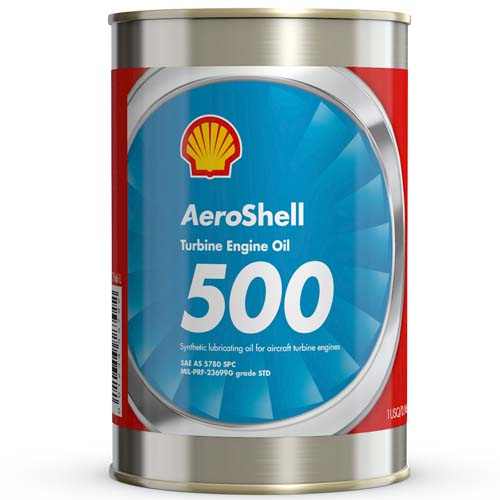 AeroShell Turbine Oil 500 - 1 Quart Can