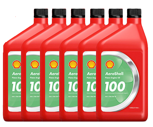 AeroShell Oil 100 - 6/1 Quart Case