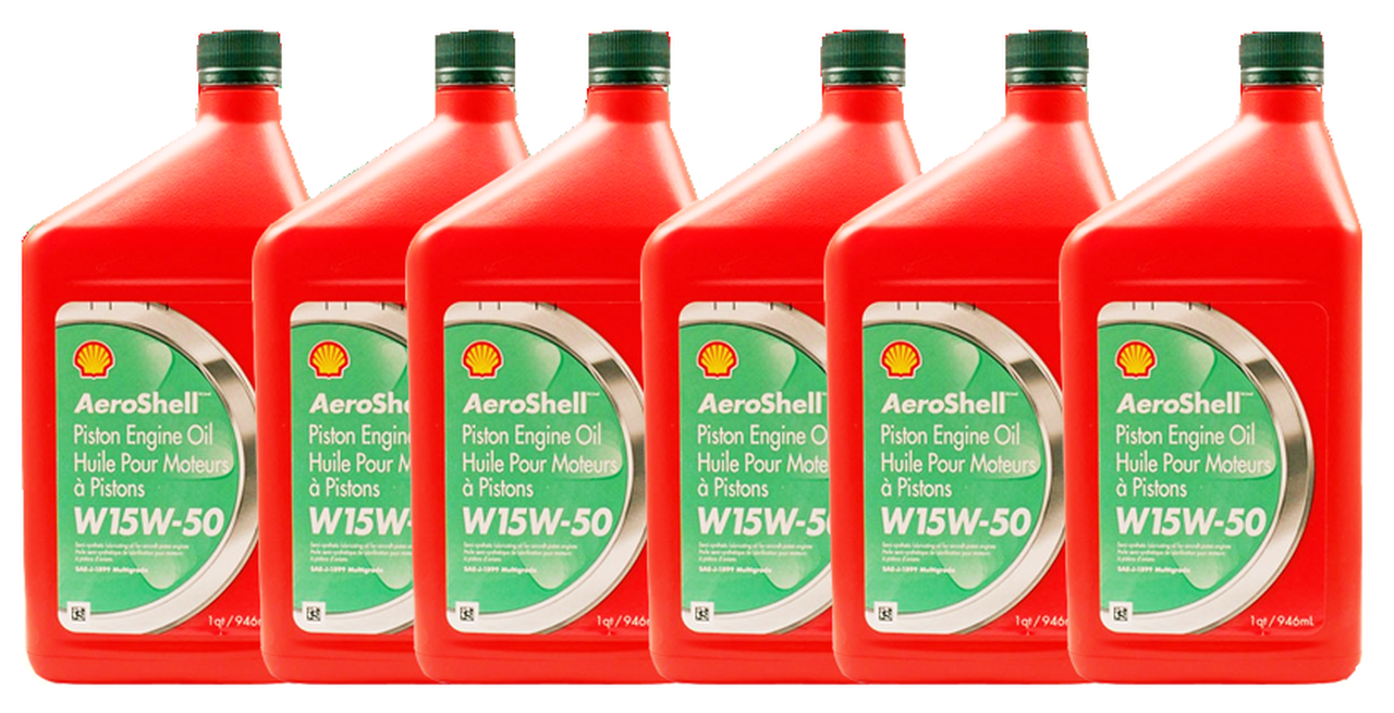 AeroShell Oil W 15W-50 - 6/1 Quart Case