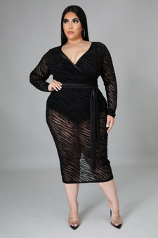 DIAN SEXY PLUS MIDI DRESS