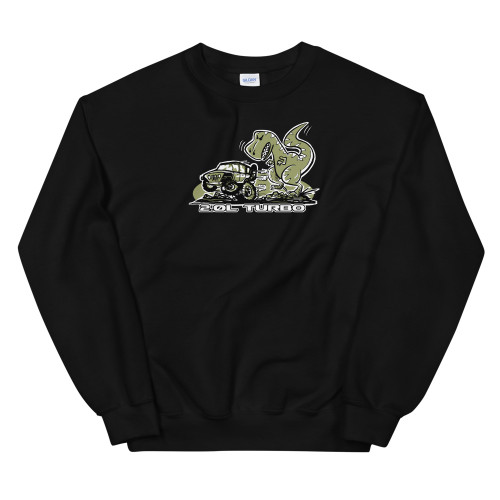 Black Turbo Unisex Sweatshirt