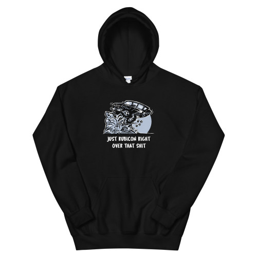 Black Rubicon Over It Unisex Hoodie