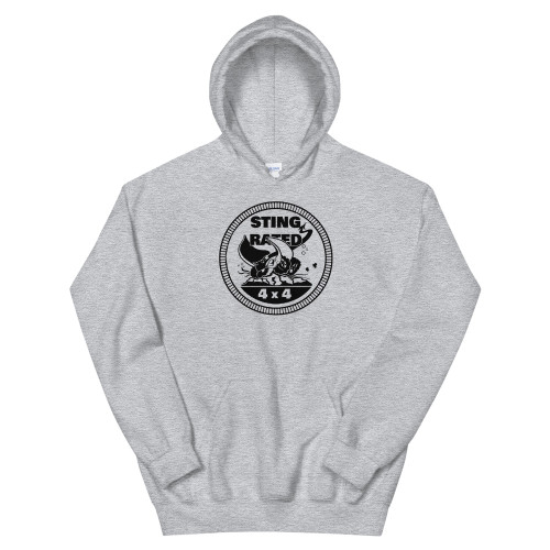 Gray Sting-Rated Unisex Hoodie