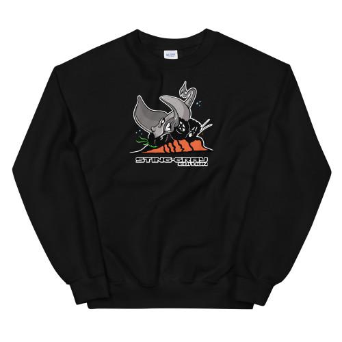 Black Sting-Gray Edition Unisex Sweatshirt