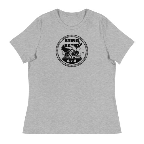 Gray Sting-Rated Women's Relaxed T-Shirt