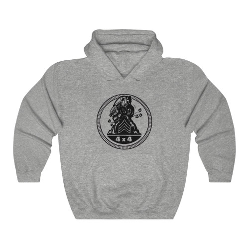 Sarge Badge Unisex Heavy Blend™ Hooded Sweatshirt