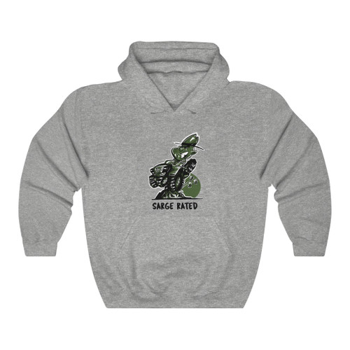 Sarge Rated Unisex Heavy Blend™ Hooded Sweatshirt