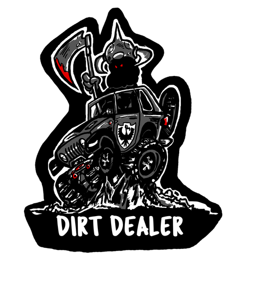 Dirt Dealer Decal