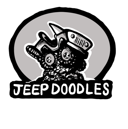 JeepDoodles Decal