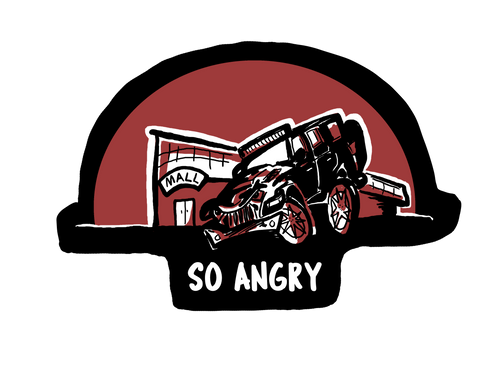 So Angry Decal